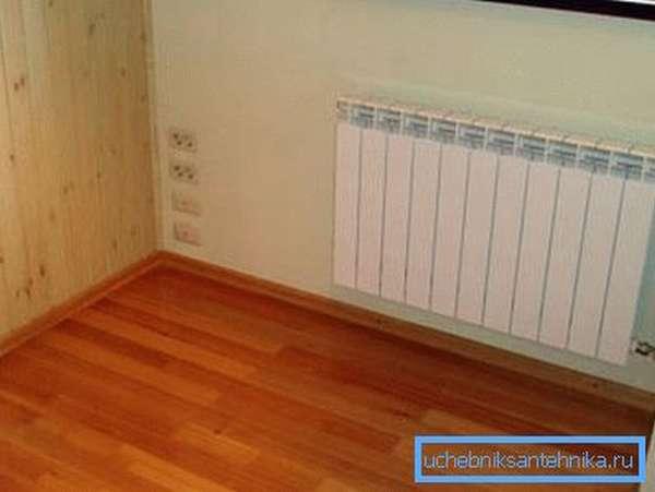 На фото: если все подсчеты проведены правильно, то в вашем доме всегда будет тепло