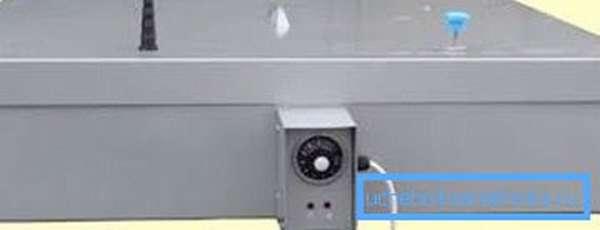 На фото - изделие из стали с встроенным нагревателем