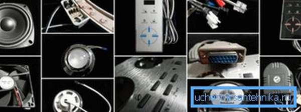 На фото: некоторые покупатели даже не представляют, сколько в конструкции электронных узлов
