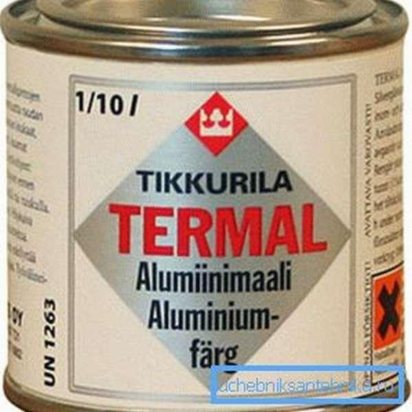 На фото покрытие для алюминиевых поверхностей