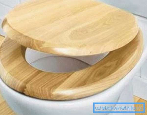 На фото – пример деревянной крышки