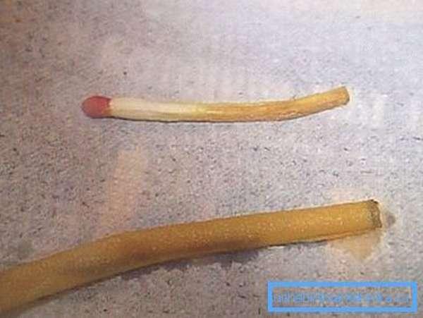 На фото - пример воздействия на органику