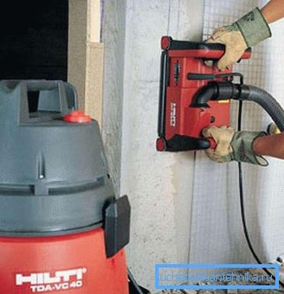 На фото – профессиональное оборудование, которое применяется для работы на промышленных объектах