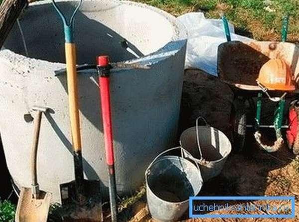 Начало работы по устройству автономной канализации