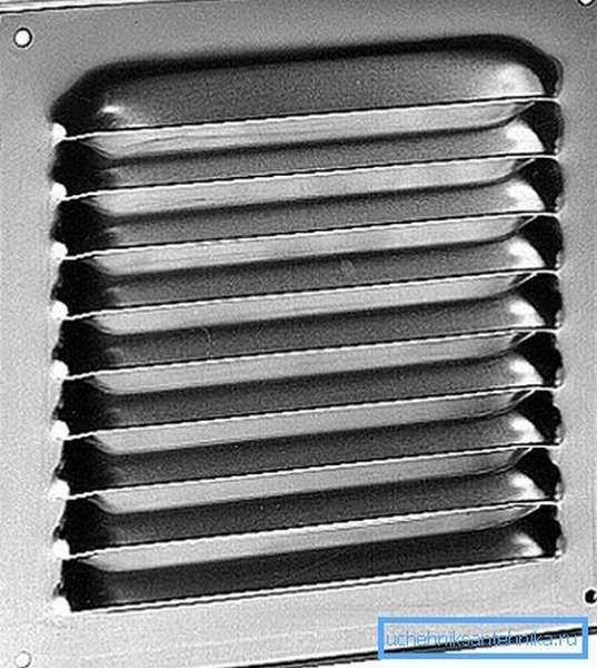 Надежные вентиляционные решетки из нержавеющей стали с неподвижными жалюзи