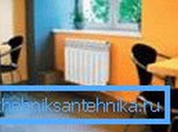 Наиболее эффективное место размещение радиатора находится под окном