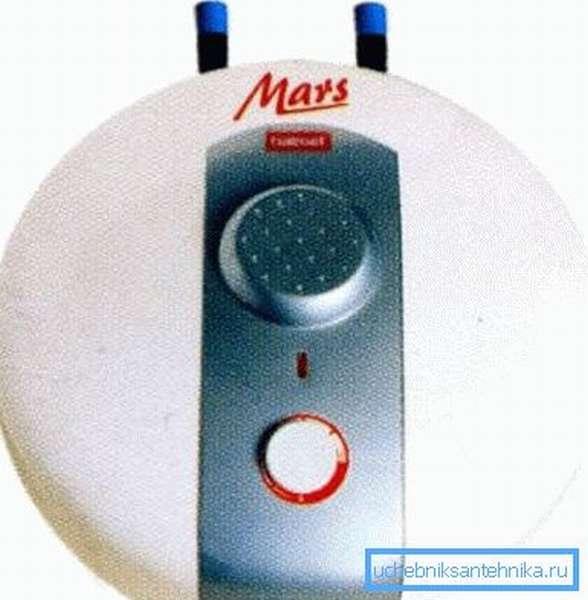 Накопительный водонагреватель накопительный на 5 литров под раковину Galmet Mars