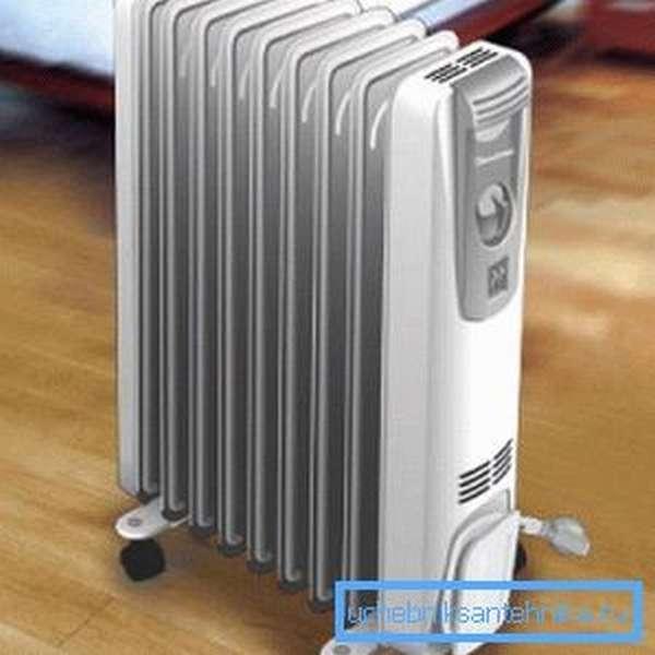 Напольный масляный радиатор