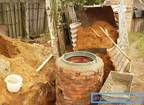 Наружная часть системы канализации
