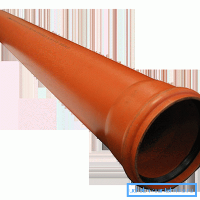 Наружная канализационная труба 200 мм