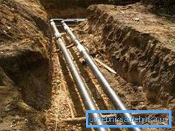 Наружный водопровод