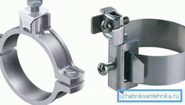 Наружный диаметр изделий также имеет большое значение, поскольку от него зависит тип используемых при работе хомутов или ремонтных муфт