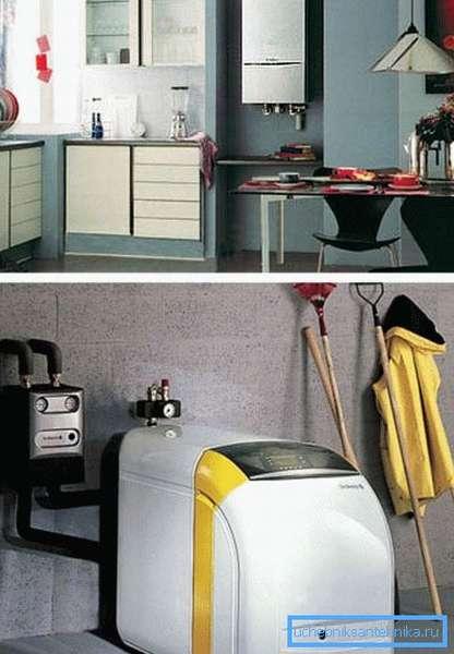 Настенное и напольное оборудование для отопления и водоснабжения