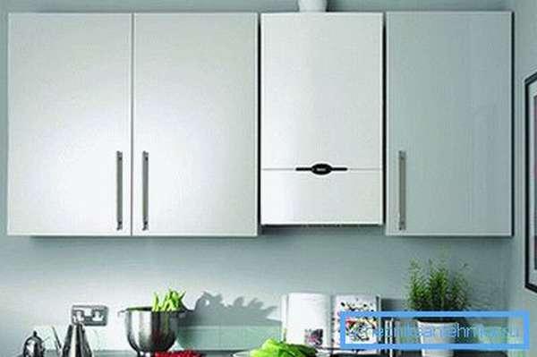 Настенное оборудование BAXI в интерьере кухни