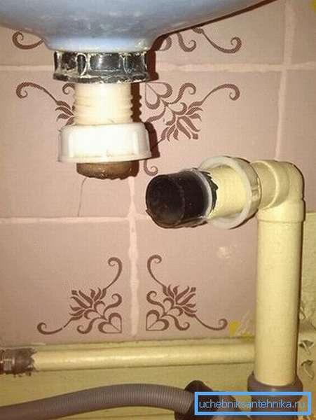 Не оставляйте сливное отверстие открытым, канализационные газы могут быть ядовиты.