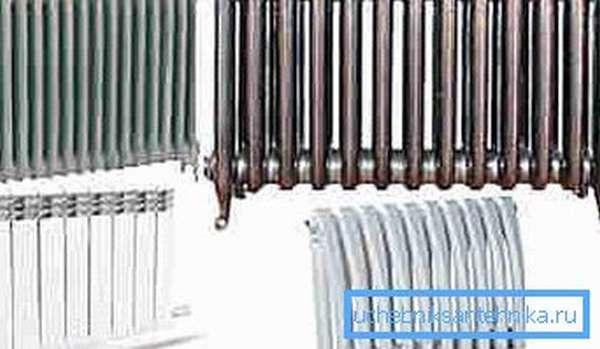 Не все типы отопительных радиаторов пригодны для применения в квартирах.