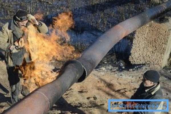 Небольшая авария на газопроводе – и ваш дом может остаться без тепла