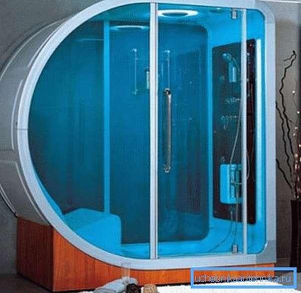 Некоторые конструкции подобного типа имеют инфракрасные системы подогрева воздуха