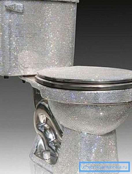 Некоторые модели сантехнических устройств можно отнести к произведениям современного искусства