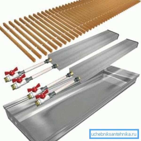 Некоторые модификации могут иметь два радиатора для увеличения мощности