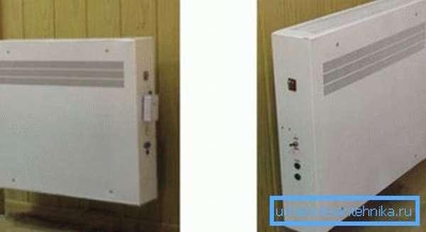 Некоторые виды подобных батарей или радиаторов имеют самостоятельную систему нагрева и могут функционировать в качестве переносных изделий