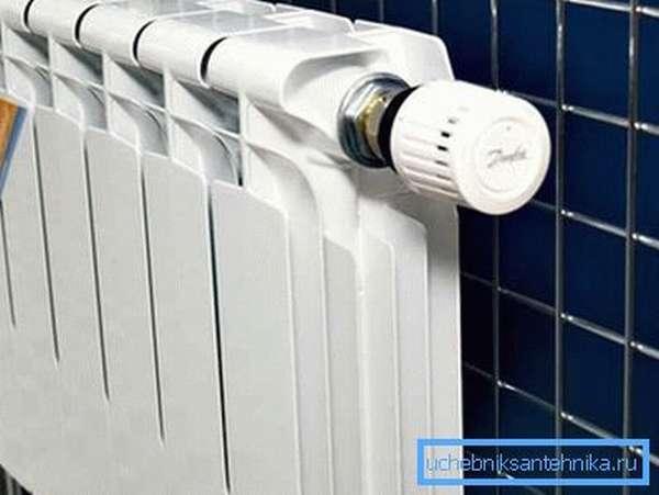 Низкая тепловая инерция позволяет эффективно использовать регулировочную аппаратуру.
