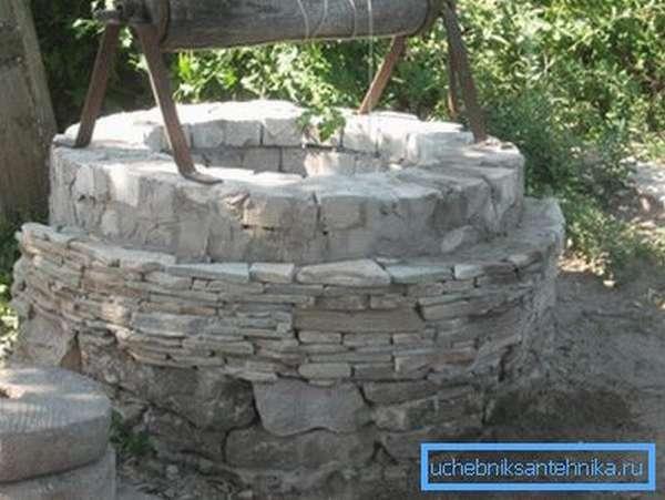 Облицовка «диким» камнем