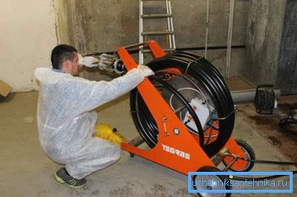 Оборудование для чистки вентиляционного канала