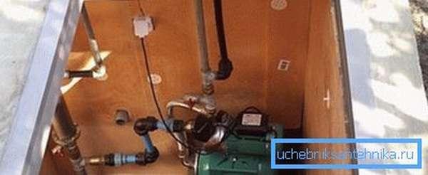 Оборудование для обвязки скважины на загородном участке
