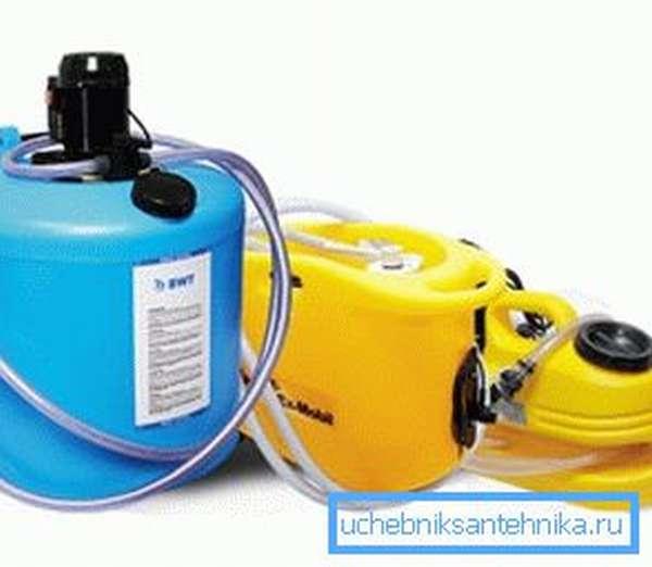 Оборудование для очистки от шлама и известковых отложений марки Cillit