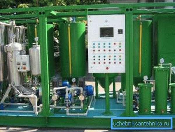 Оборудование для производства биотоплива из семян рапса