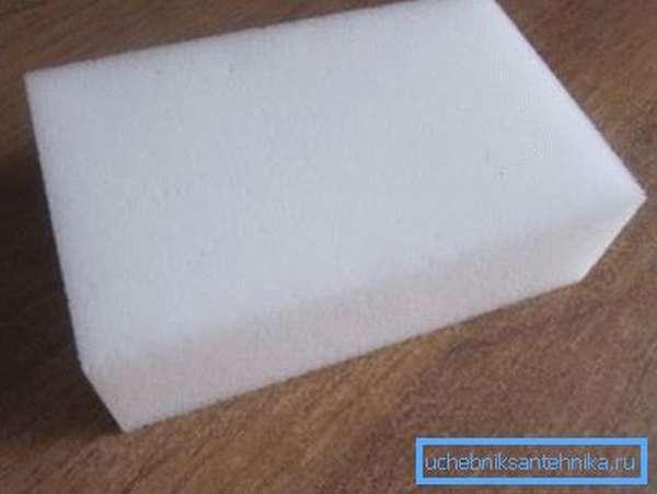 Образец меламиновой губки