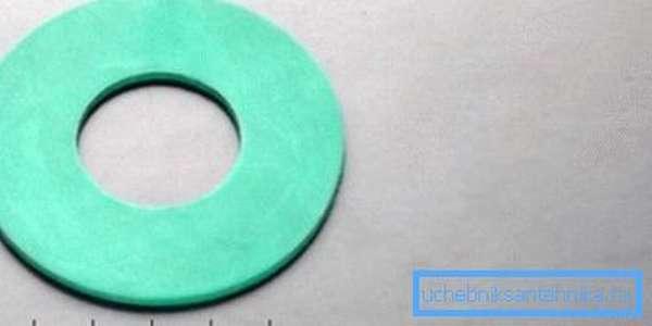 Образец мембраны сливного бачка