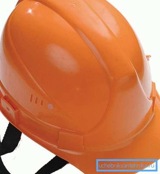 Образец строительной каски