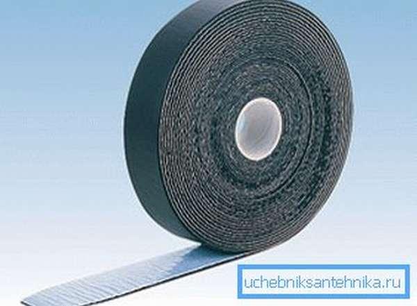 Образец технической алюминиевой клейкой ленты
