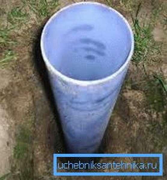 Обсадная труба для скважины.