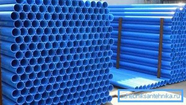 Обсадные пластиковые трубы для скважин