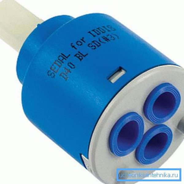 Обычный картридж для однорычажного смесителя 40 мм