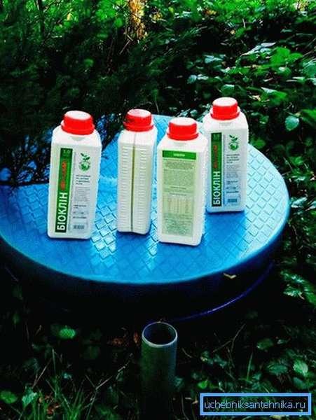 Очистка биопрепаратами