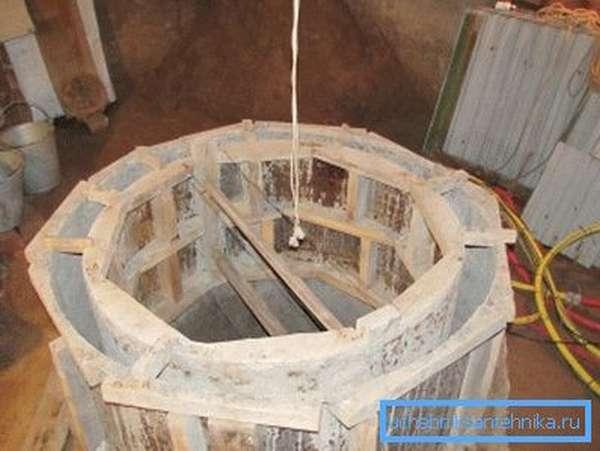 Опалубка для бетонных колец