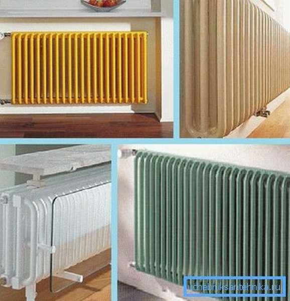От количества секций зависит теплоотдача устройства