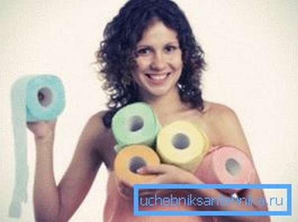 От выбора туалетной бумаги также зависит здоровье прямого кишечника