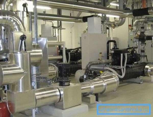 Отопительно-вентиляционная установка на венгерском пищепромышленном заводе Givaudan, г. Мако.