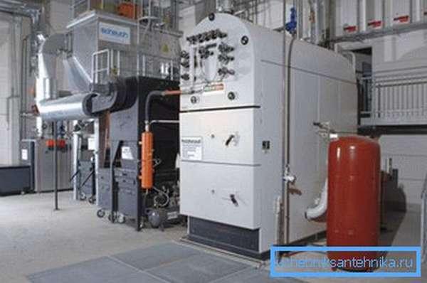 Отопительные устройства для установки в промышленных цехах