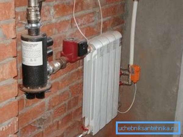Отопление гаража электрическим котлом электродного типа