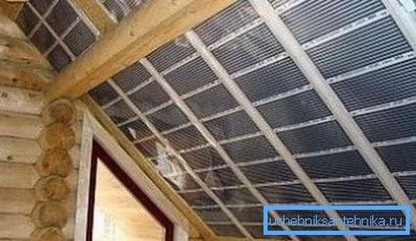 Отопление мансарды своими руками с помощью инфракрасных панелей