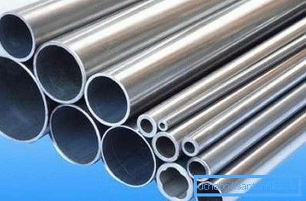 Оцинкованные трубы для водопровода разных видов