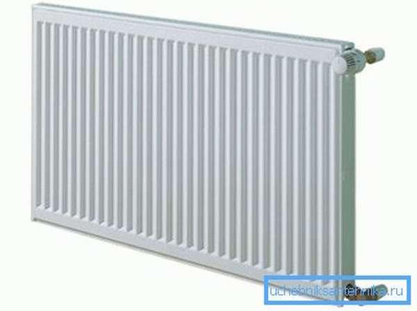 Панельные радиаторы отопления Керми с полостью между пластинами