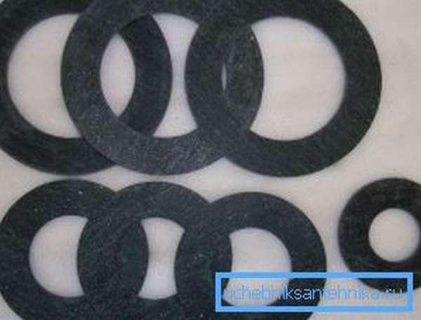 Паронит представляет собой модифицированную резину.