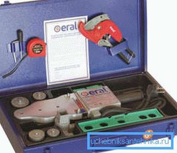 Паяльник пропиленовых труб Eral ER-01 (LUX)